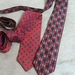EQUESTRIAN ITALY / COUNTESS MARA silk tie bundle
